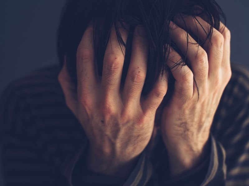 pain and suffering caused by drug addiction