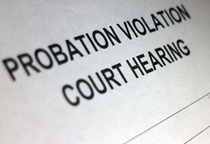 what happens when you violate probation in Louisiana?